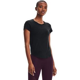 Under Armour Streaker Runclipse Short Sleeve Shirt Women, czarny